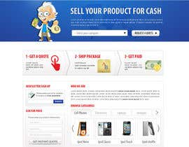 nº 113 pour Website Design for American Buy Back! Buying Electronics Antiques Gold and valuables Online w/Cash par dragnoir
