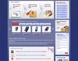#89 cho Website Design for American Buy Back! Buying Electronics Antiques Gold and valuables Online w/Cash bởi brnbhttchry