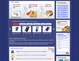 #88 cho Website Design for American Buy Back! Buying Electronics Antiques Gold and valuables Online w/Cash bởi brnbhttchry