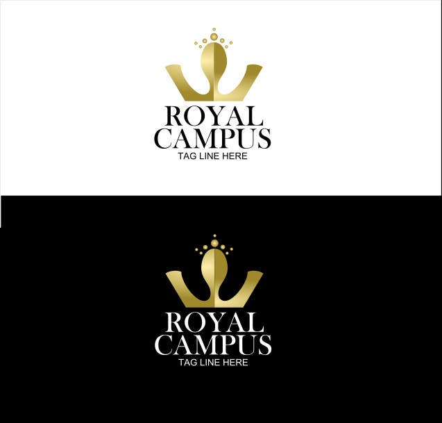 Proposition n°                                        60                                      du concours                                         Logo Design for Royal Campus
