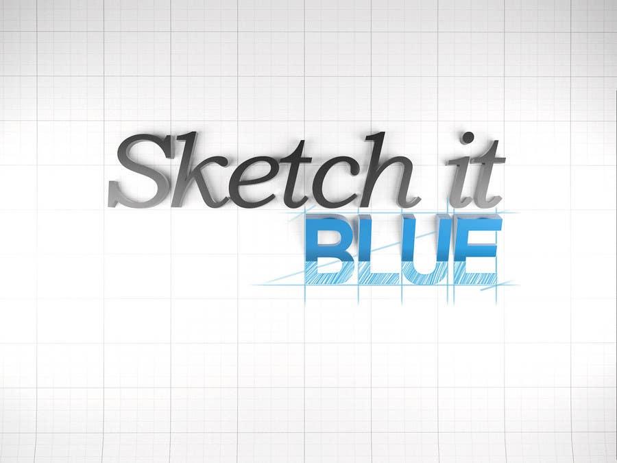 Penyertaan Peraduan #611 untuk Logo Design for Sketch It Blue