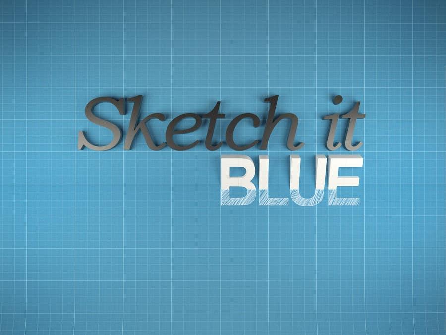 Penyertaan Peraduan #605 untuk Logo Design for Sketch It Blue