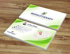 #2 for design business card for physiotherapy clinic by FebDesigns