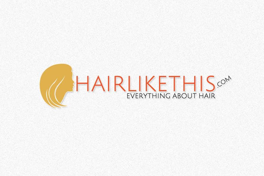 Proposition n°                                        111                                      du concours                                         Logo Design for HairLikeThis.com