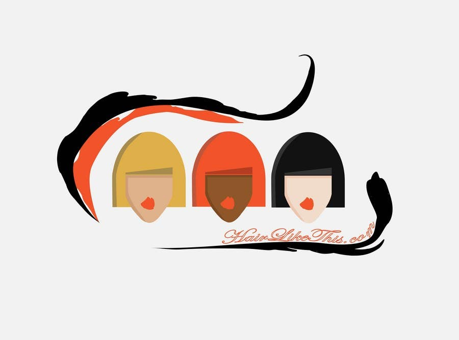 Proposition n°                                        53                                      du concours                                         Logo Design for HairLikeThis.com