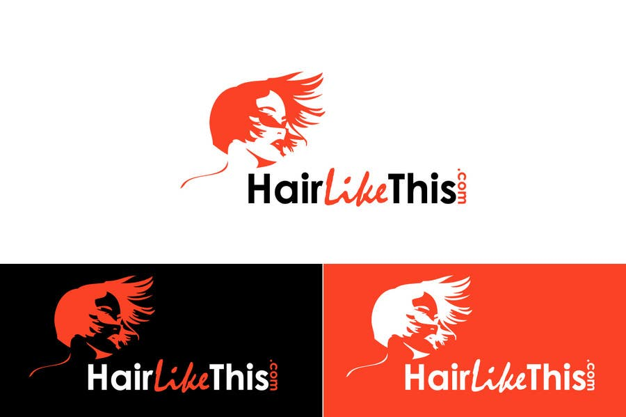 Contest Entry #83 for Logo Design for HairLikeThis.com