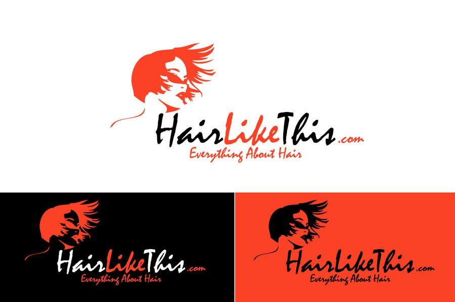 Proposition n°                                        132                                      du concours                                         Logo Design for HairLikeThis.com
