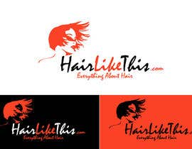 #132 for Logo Design for HairLikeThis.com by logoustaad
