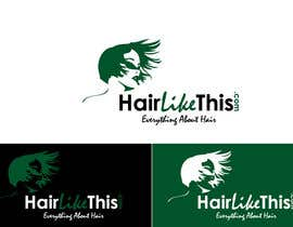 #85 for Logo Design for HairLikeThis.com af logoustaad