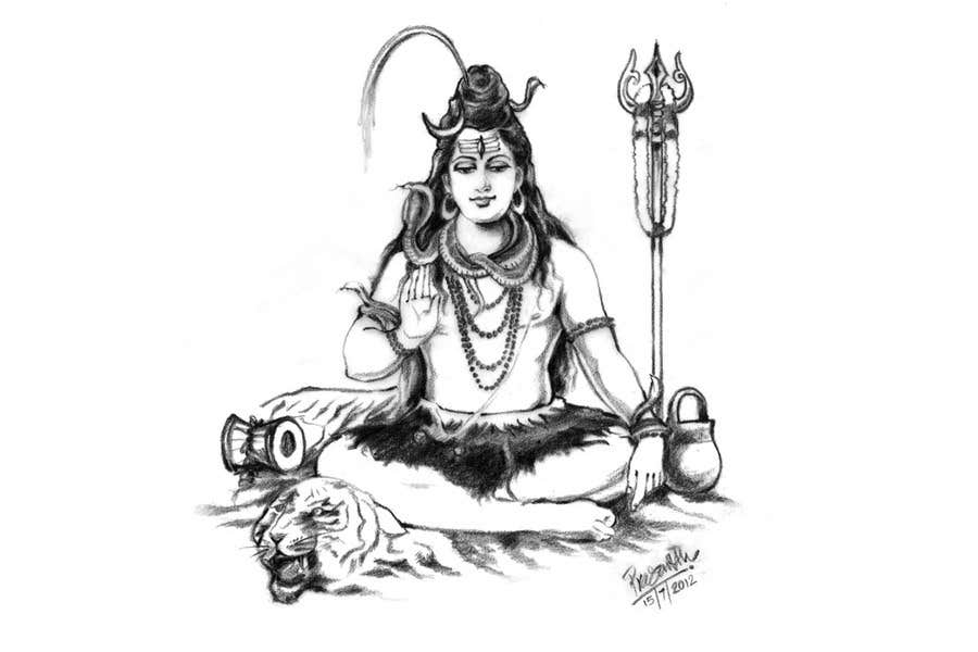 Konkurrenceindlæg #                                        31                                      for                                         Sketches of deities for a new book to be published on Hinduism