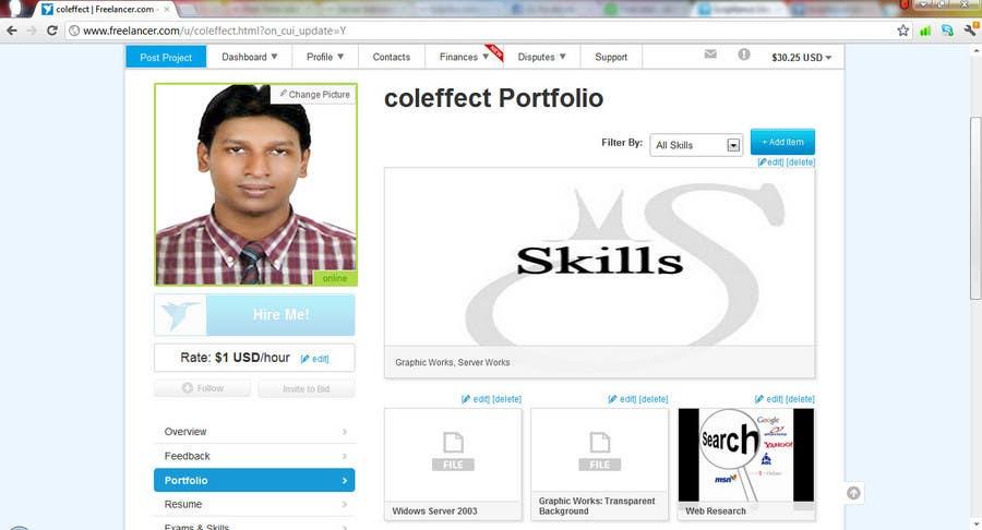 Конкурсная заявка №636 для Scriptlance Users: Complete your Profile and Win!