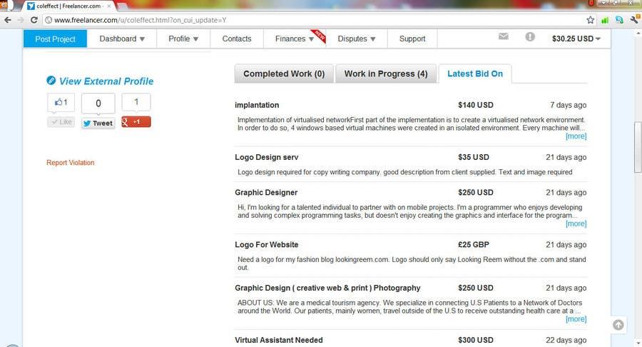 Конкурсная заявка №634 для Scriptlance Users: Complete your Profile and Win!