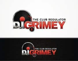 "#118 para Logo Design for Dj Grimey ""The Club Regulator""! por flov"