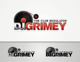 "#106 para Logo Design for Dj Grimey ""The Club Regulator""! por flov"