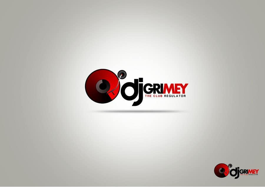 """Inscrição nº 136 do Concurso para Logo Design for Dj Grimey """"The Club Regulator""""!"""