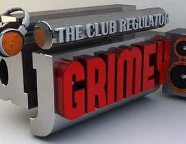 "nº 60 pour Logo Design for Dj Grimey ""The Club Regulator""! par akshay090592"