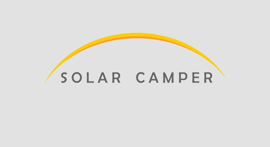 Inscrição nº                                         67                                      do Concurso para                                         Design a Logo for Solar Camper