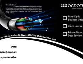 #23 untuk Design a Marketing Postcard for a Telecommunications Company oleh vinu91