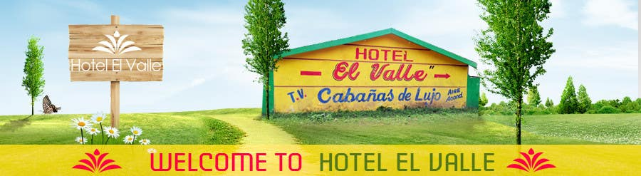 Конкурсная заявка №75 для Banner Ad Design for Hotel el Valle