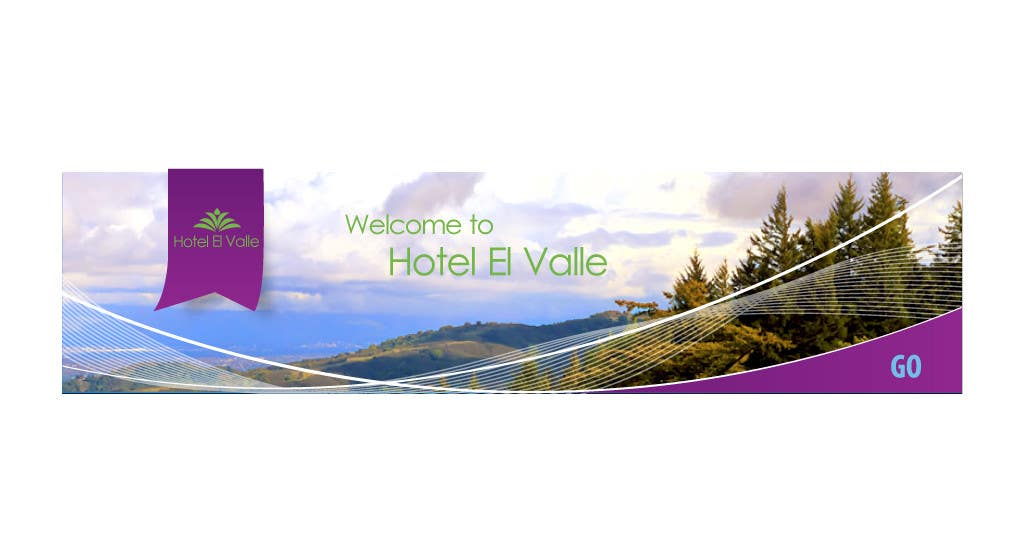 Конкурсная заявка №119 для Banner Ad Design for Hotel el Valle