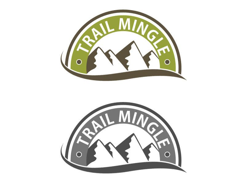 #55 for Trail Mingle Logo Design Contest by datagrabbers