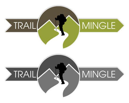 #60 for Trail Mingle Logo Design Contest by datagrabbers