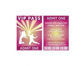 #2 cho VIP Birthday Invitation to go in Lanyard bởi twodnamara