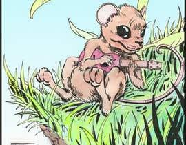 JacobOchoa tarafından Illustrate a cute, little, mouse holding a ukulele. için no 7