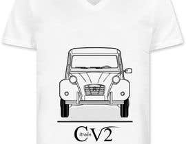 nº 24 pour Design t-shirt 2cv par Spinere