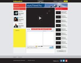 sabdulghani tarafından Design a Website Mockup for BxRecords.TV için no 2