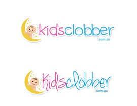 #113 para Design a logo for a website named kidsclobber.com.au por wendaii