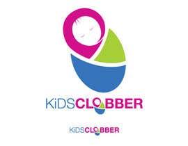 #71 para Design a logo for a website named kidsclobber.com.au por marlopax