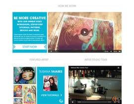 #23 para Home Page Design For www.iCreateFlix.com por VLVali