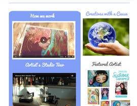 #27 para Home Page Design For www.iCreateFlix.com por ShivaniRaheja19