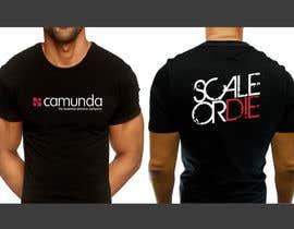 #6 untuk Design a T-Shirt for camunda / scale or die oleh b74design