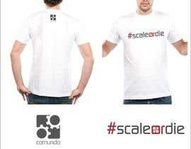 #12 untuk Design a T-Shirt for camunda / scale or die oleh lanangali
