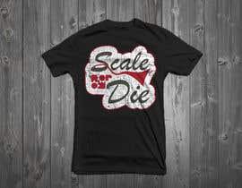 #65 untuk Design a T-Shirt for camunda / scale or die oleh Drhen