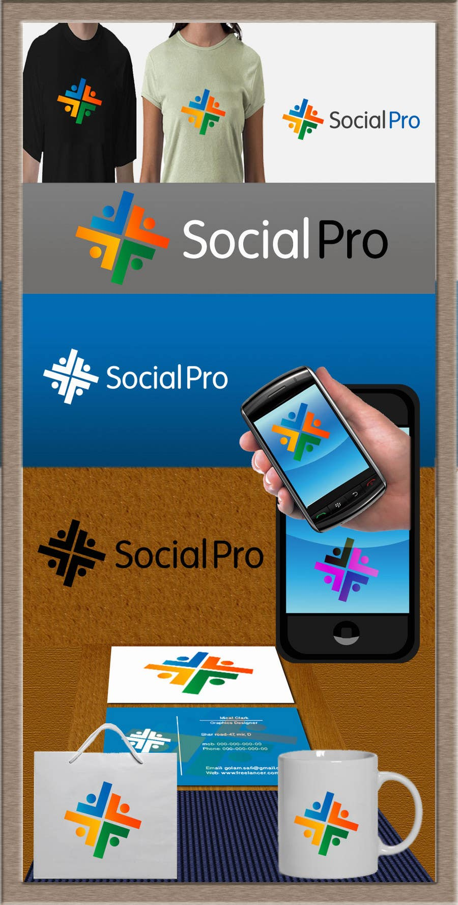 Contest Entry #115 for Logo Design for SOCIALPRO