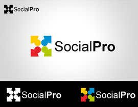 #147 cho Logo Design for SOCIALPRO bởi blackbilla