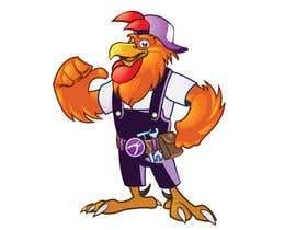 #17 for Need a Cartoon Rooster -- Cable TV Service Man Created! af agungmalang