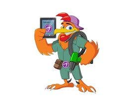 #31 untuk Need a Cartoon Rooster -- Cable TV Service Man Created! oleh mukaishpatel