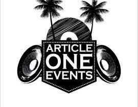 #104 for Design a Logo for 'Article One Events' af hazeemmuhammed