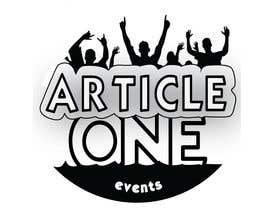 #97 for Design a Logo for 'Article One Events' af prokoop
