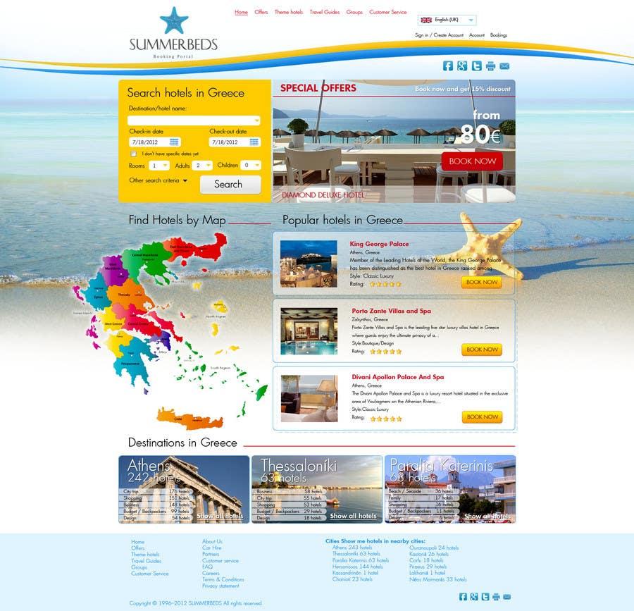 Contest Entry #17 for Website Design for SUMMERBEDS