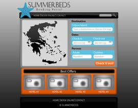 nº 74 pour Website Design for SUMMERBEDS par giannoulasv