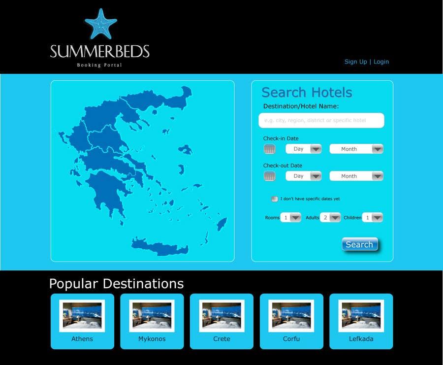 Contest Entry #64 for Website Design for SUMMERBEDS