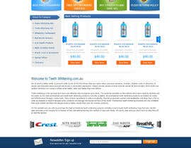 #54 para Website Design for Teeth Whitening Australia (Online Retailer) por digilogsystemseu