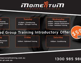 #23 for Design an eye catching timetable for my Group Personal Training Program by shalinshah91