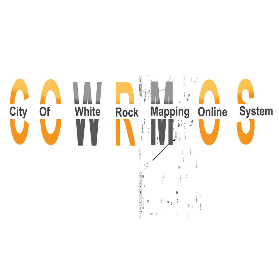 Proposition n°                                        1                                      du concours                                         Logo Design for City of White Rock's GIS Online Mapping System