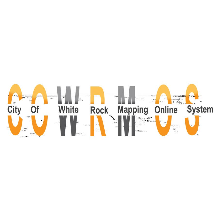 Proposition n°                                        3                                      du concours                                         Logo Design for City of White Rock's GIS Online Mapping System